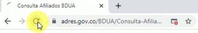 base de datos unica de afiliados